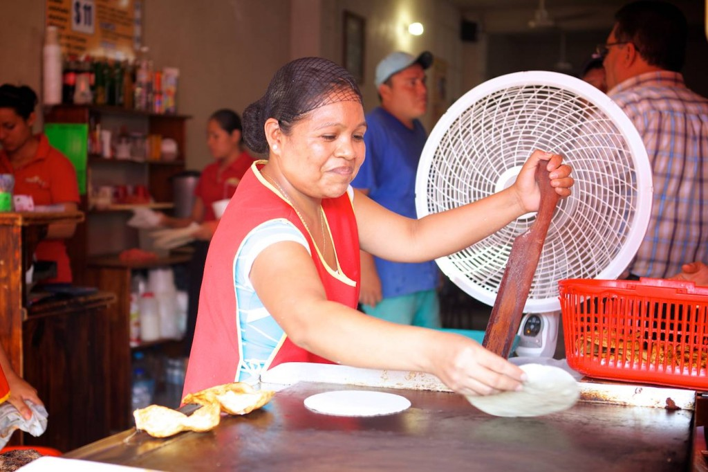 Authentic Mexican Food In San Miguel de Allende - Hand Pressed Tortillas