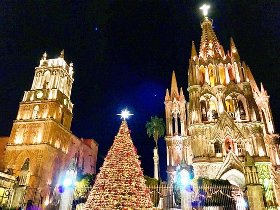 Christmas In San Miguel de Allende-Church